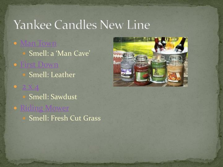 Yankee Candles New Line