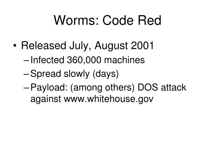 Worms: Code Red