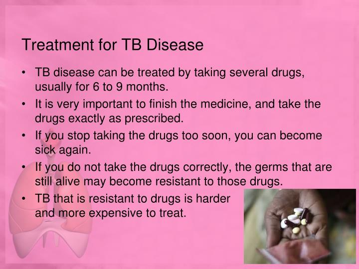Treatment for TB Disease