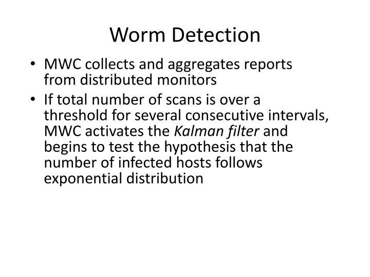 Worm Detection