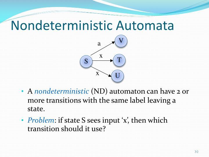 Nondeterministic Automata