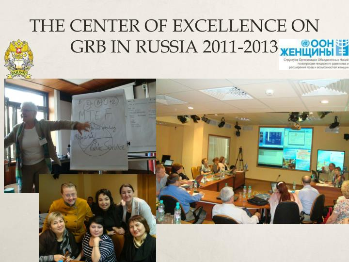 THE CENTER OF EXCELLENCE ON GRB IN RUSSIA