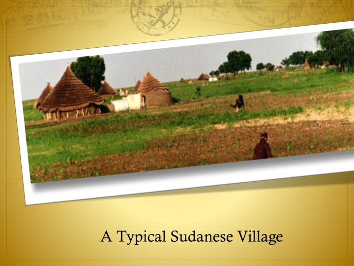 A Typical Sudanese Village