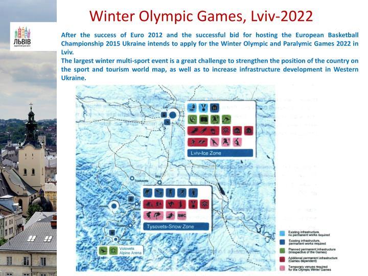Winter Olympic Games, Lviv-2022