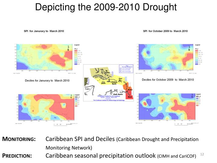Depicting the 2009-2010 Drought