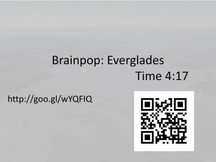 Brainpop: Everglades