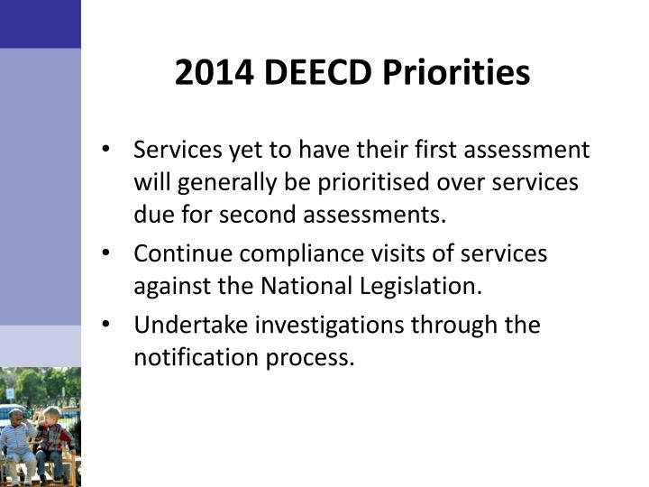 2014 DEECD Priorities