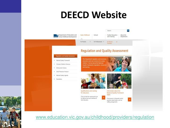 DEECD Website