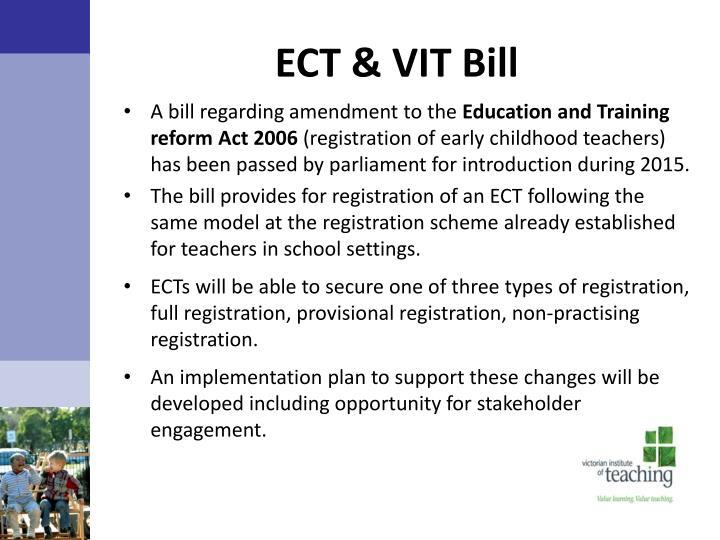 ECT & VIT Bill