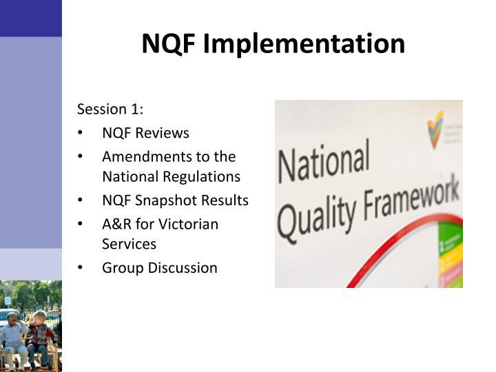 NQF Implementation