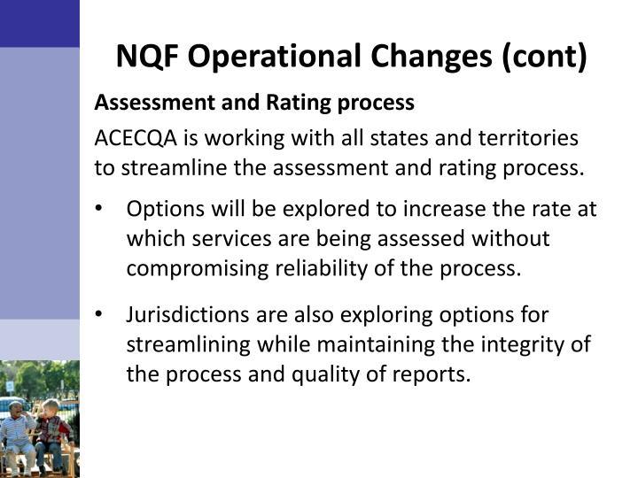 NQF Operational