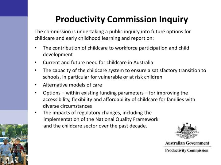 Productivity Commission Inquiry
