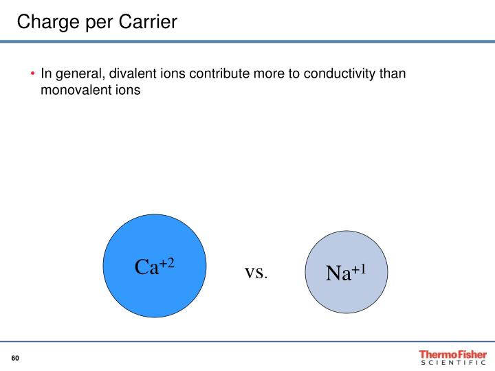 Charge per Carrier
