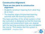 constructive alignment1