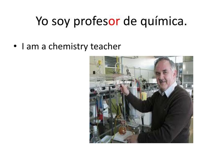 Yo soy profes