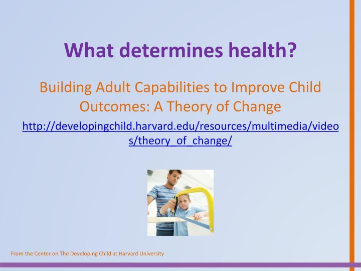 What determines health?