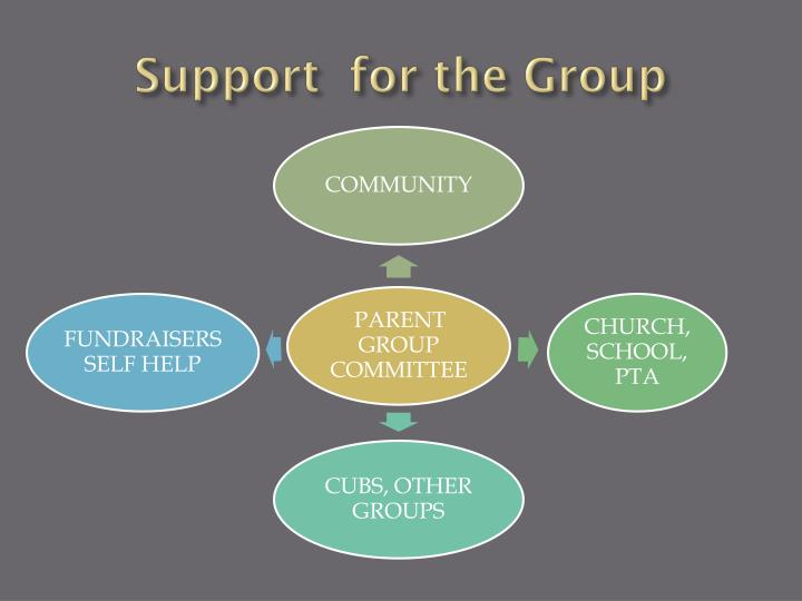 Support  for the Group