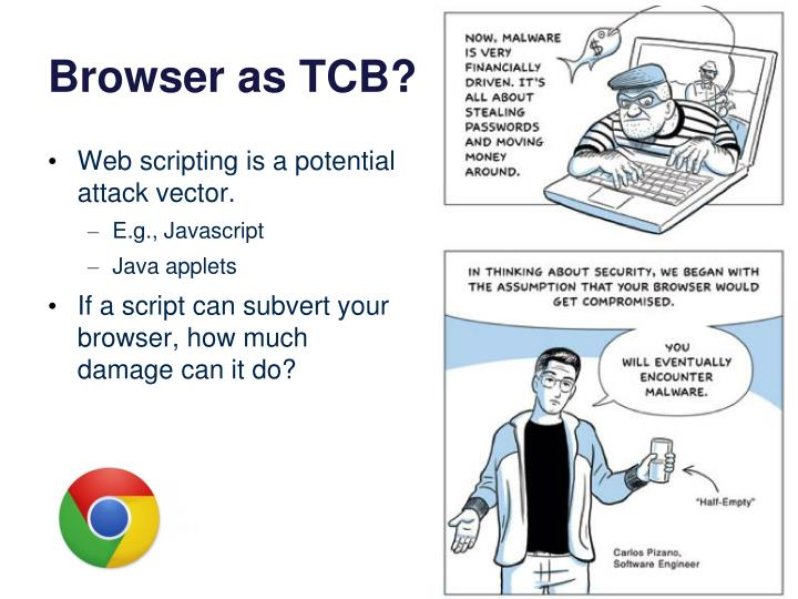 Browser as TCB?