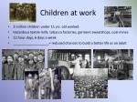 children at work
