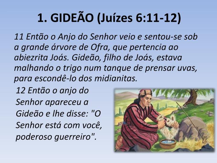 1. GIDEÃO