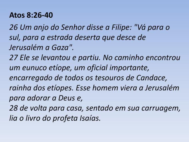 Atos 8:26-40