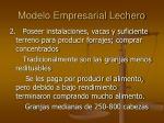 modelo empresarial lechero1