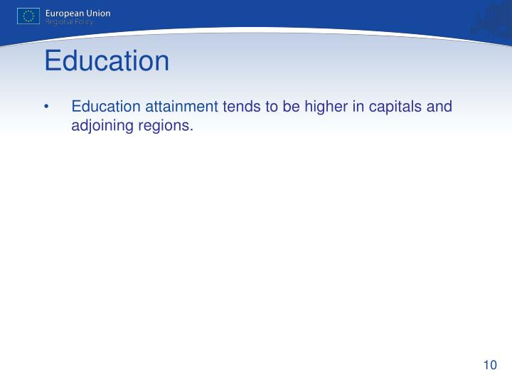 Education attainment