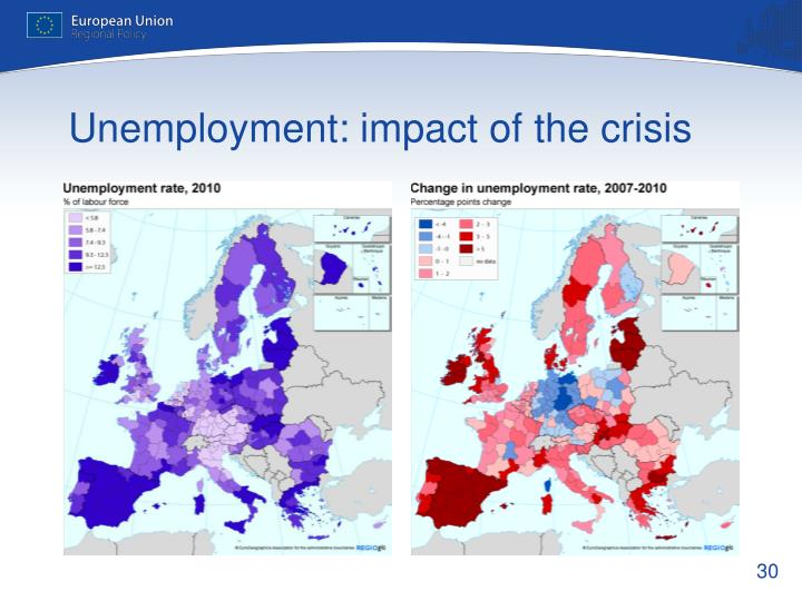 Unemployment: impact of the crisis