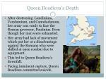 queen boadicea s death