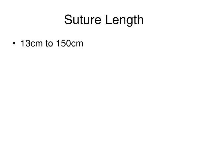 Suture Length
