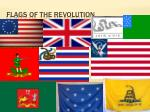 flags of the revolution