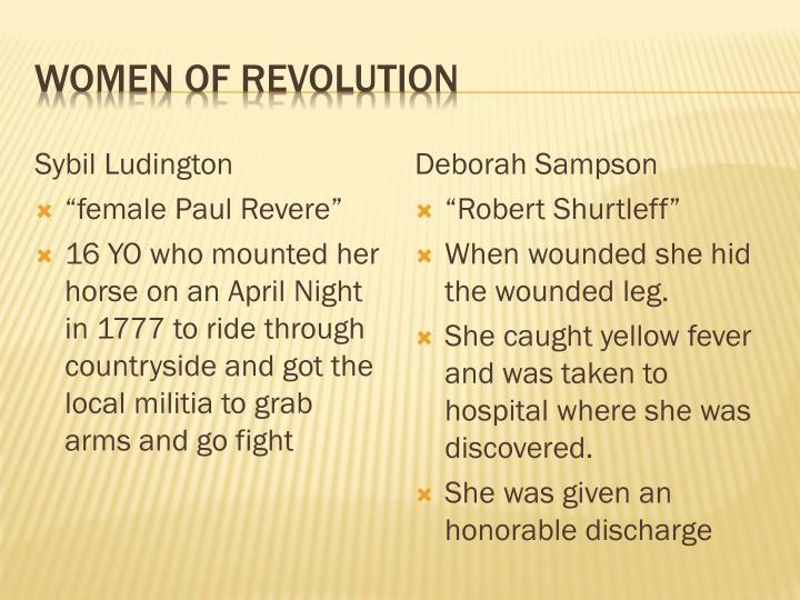 Women of Revolution