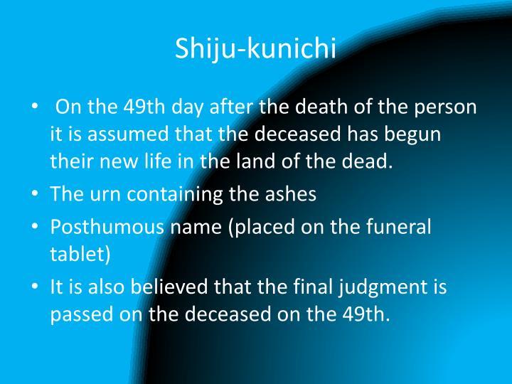 Shiju-kunichi