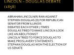 lincoln douglas debate 1858