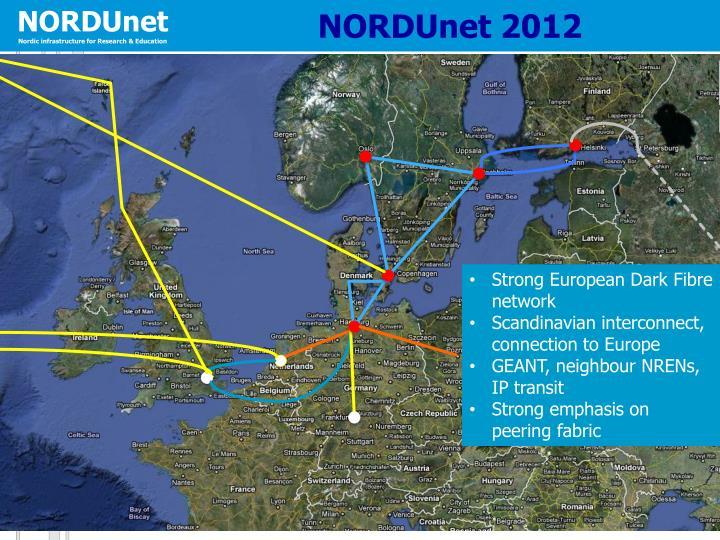 NORDUnet 2012