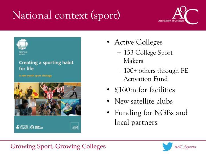 National context (sport)