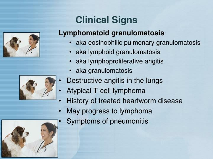 Clinical Signs