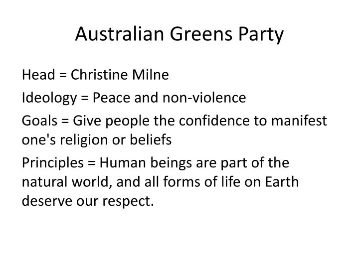 Australian Greens Party