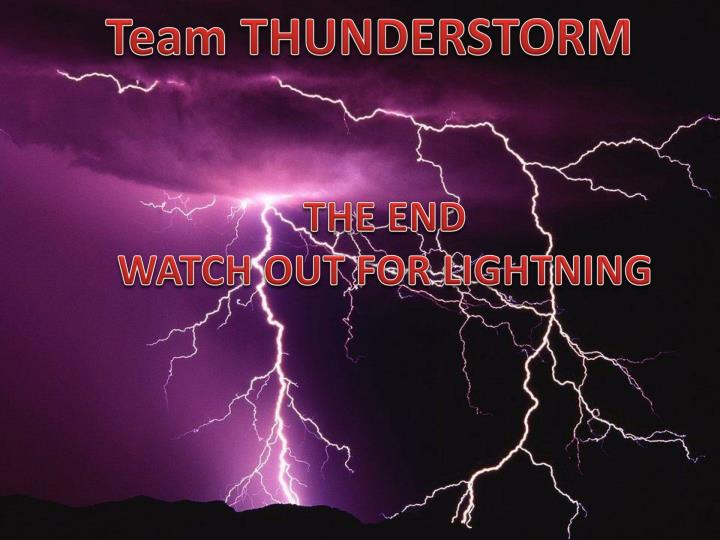Team THUNDERSTORM