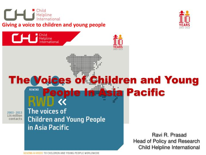 Giving a voice to children and young people