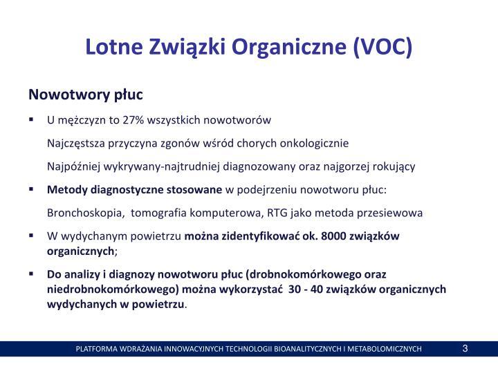 Lotne Związki Organiczne (VOC)