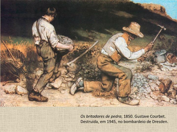 Os britadores de pedra
