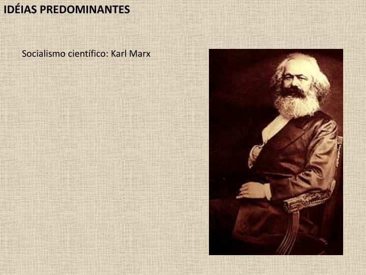 IDIAS PREDOMINANTES