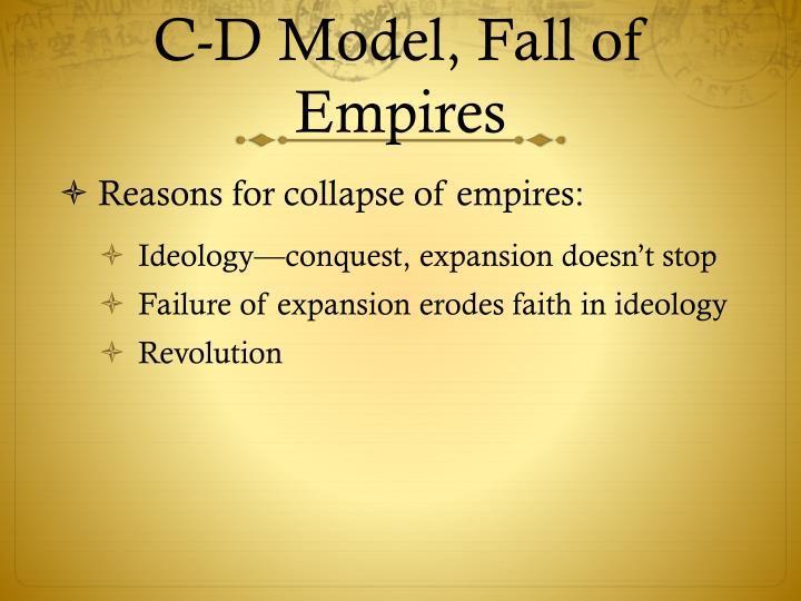C-D Model, Fall of Empires