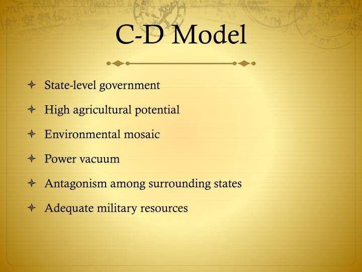 C-D Model