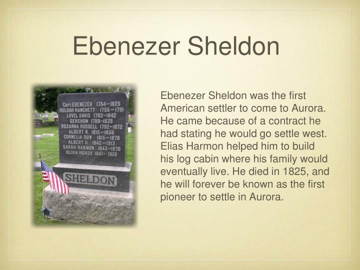 Ebenezer Sheldon