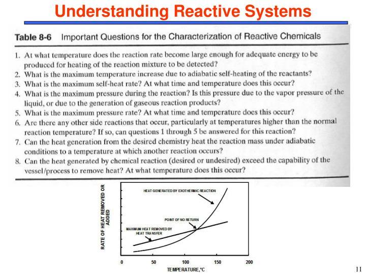 Understanding Reactive Systems