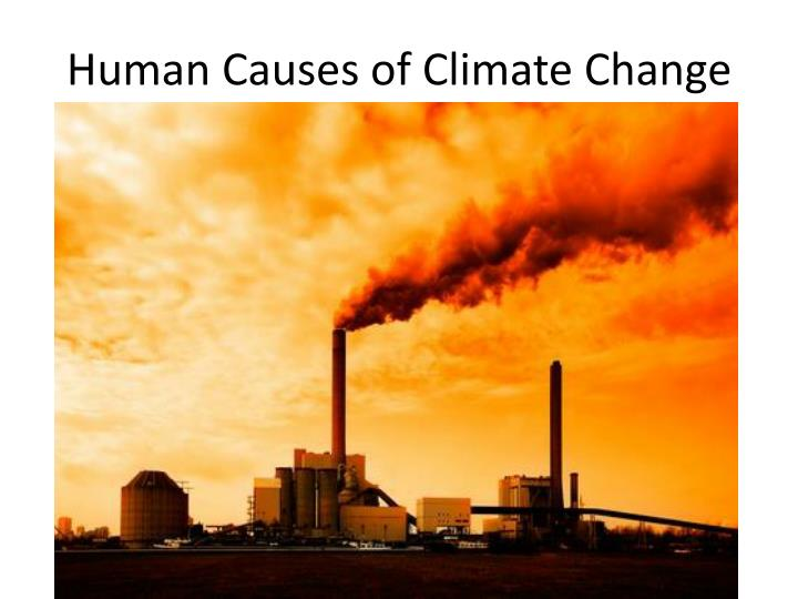 Human Causes of Climate Change