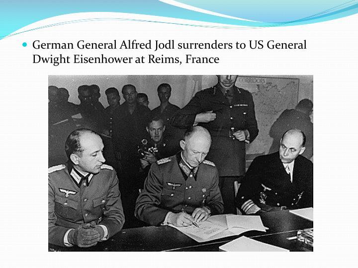 German General Alfred