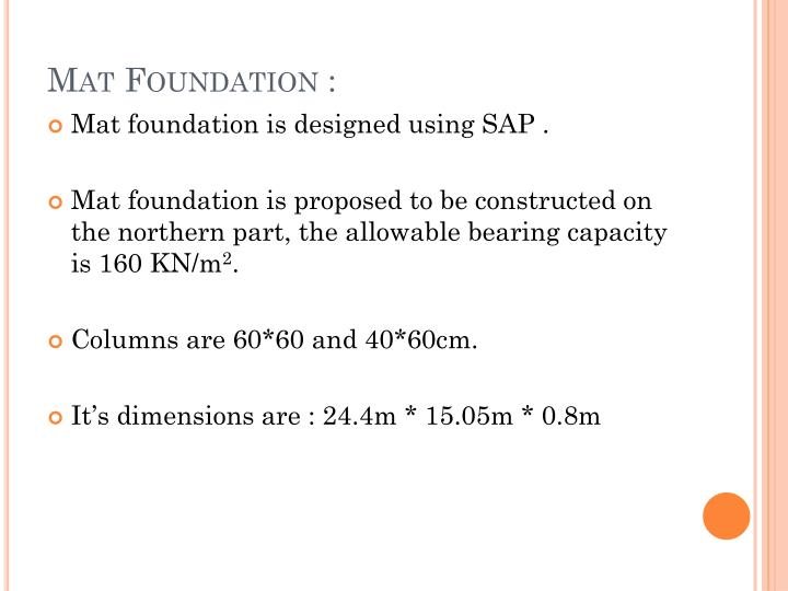 Mat Foundation :